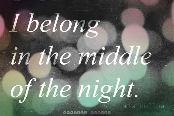 In The Middle Of Night