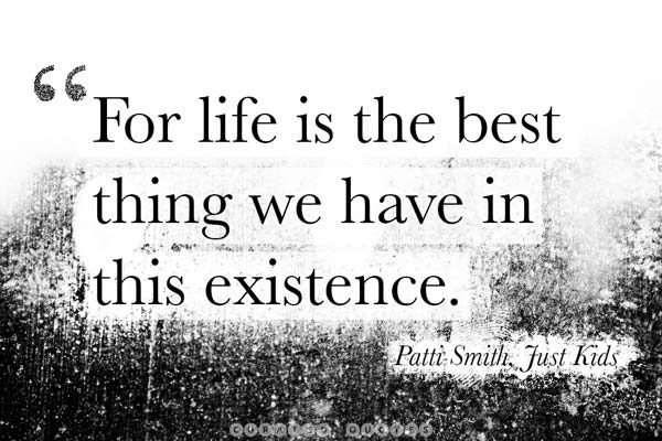 Life Is The Best Thing